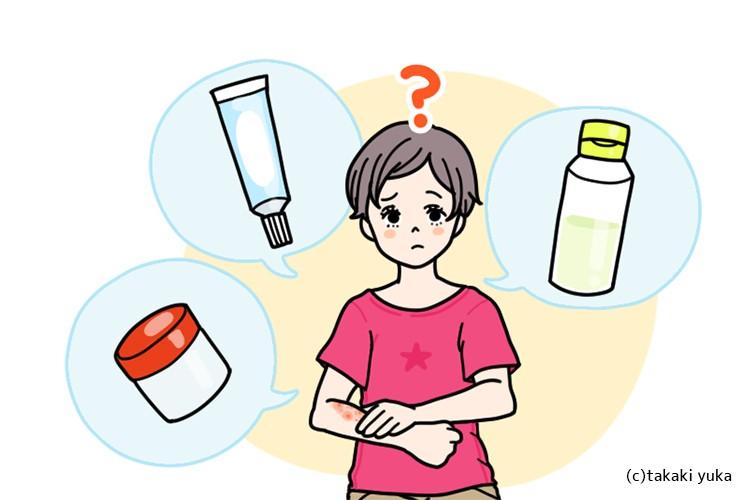 ステロイド剤の基礎知識と上手な使い方
